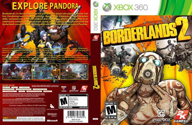 Borderlands 2 - 10 Best Xbox 360 FPS Games (2017) Which are Simply Irresistible!