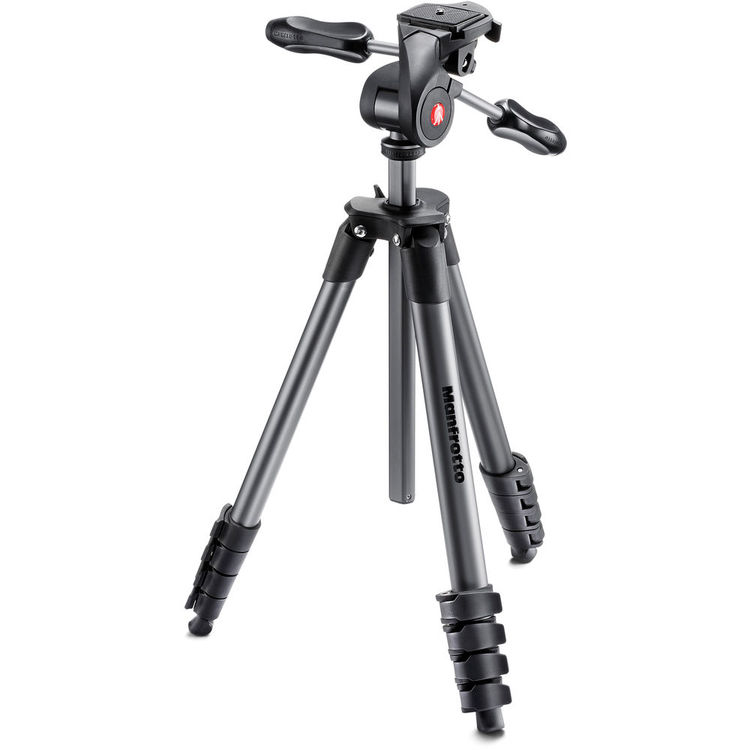 Manfrotto Compact Advanced Aluminum Tripod