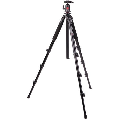 Oben AC-1441 4-Section Aluminum Tripod with BA – 111 Ball Head