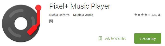 Pixel+ Music Player