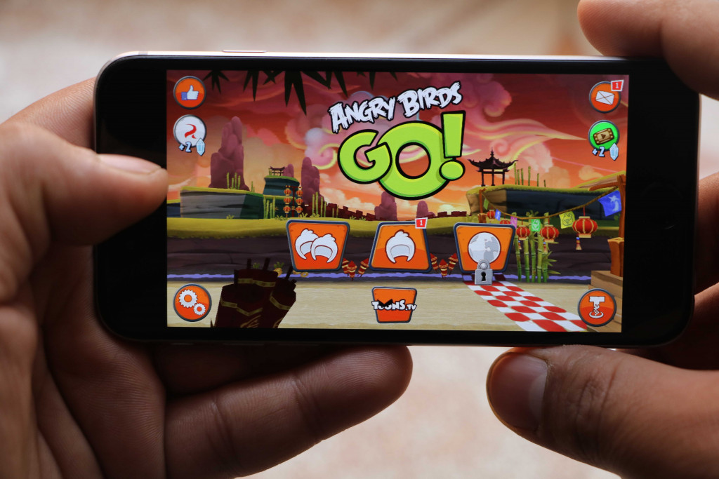 Angry Birds Go on iPhone - Best iOS Racing Games