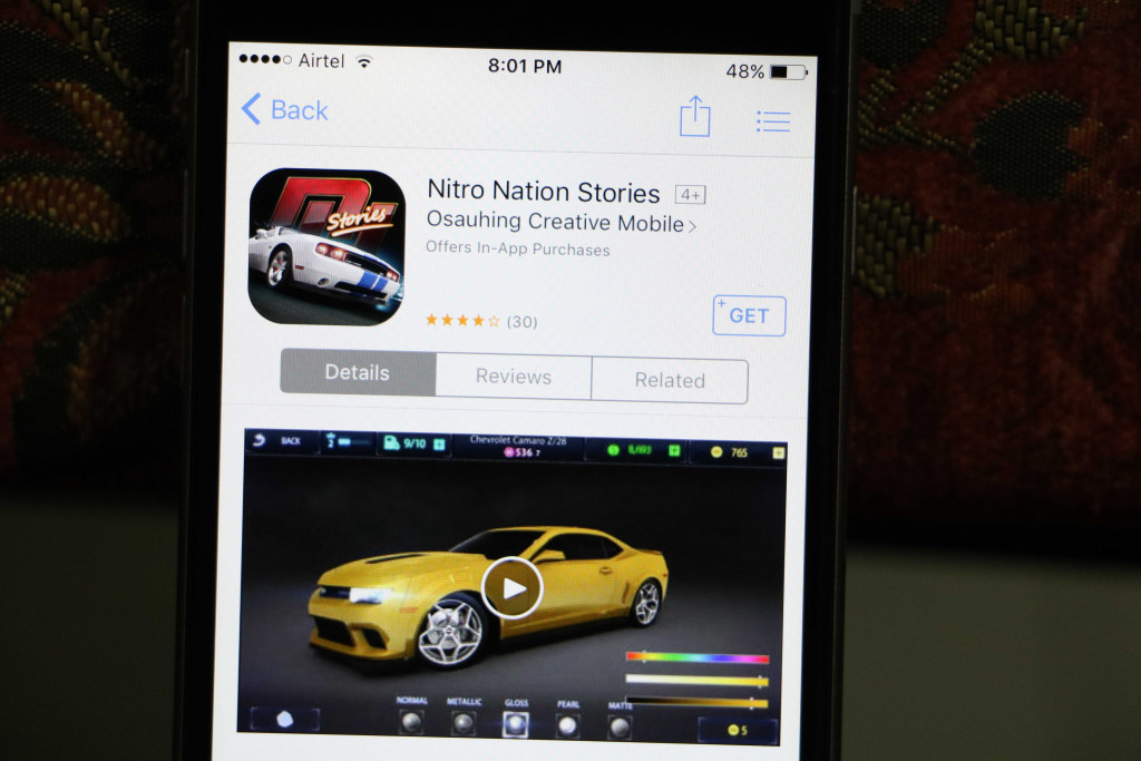 Nitro Nation Drag Racing - Best iOS Racing Games