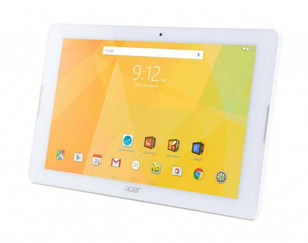 Acer Iconia One 10; 10.1 inch - Best Tablets under 200 Dollars