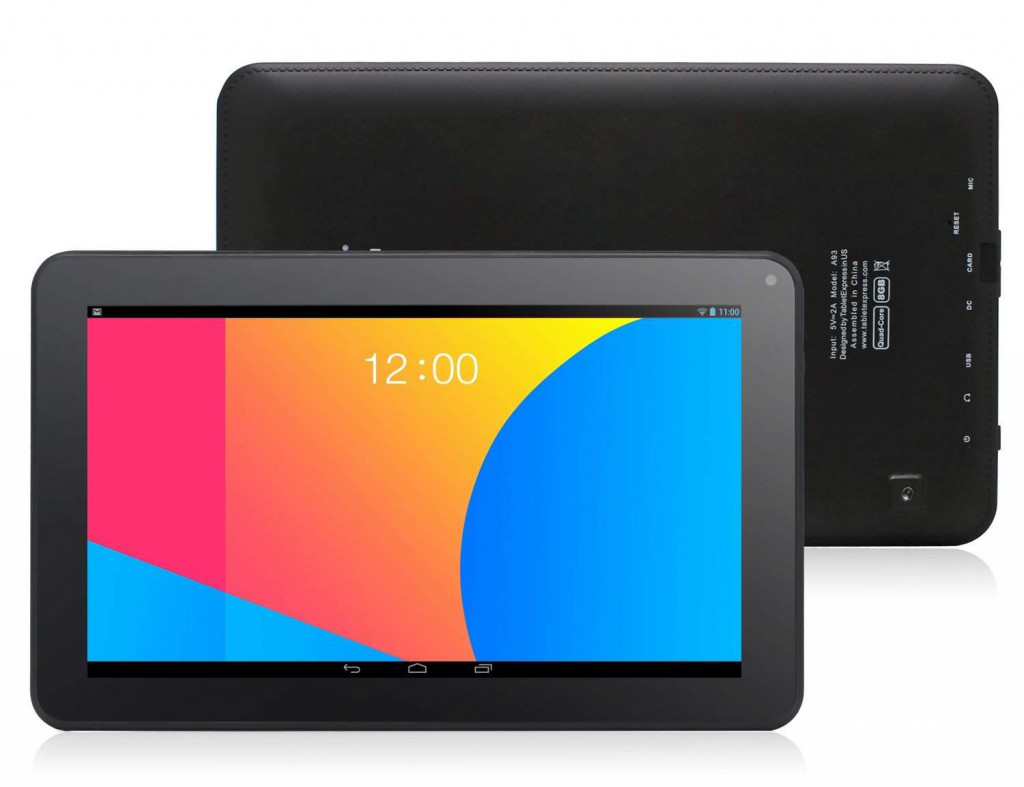 Dragon Touch A93-Best Tablets Under 100