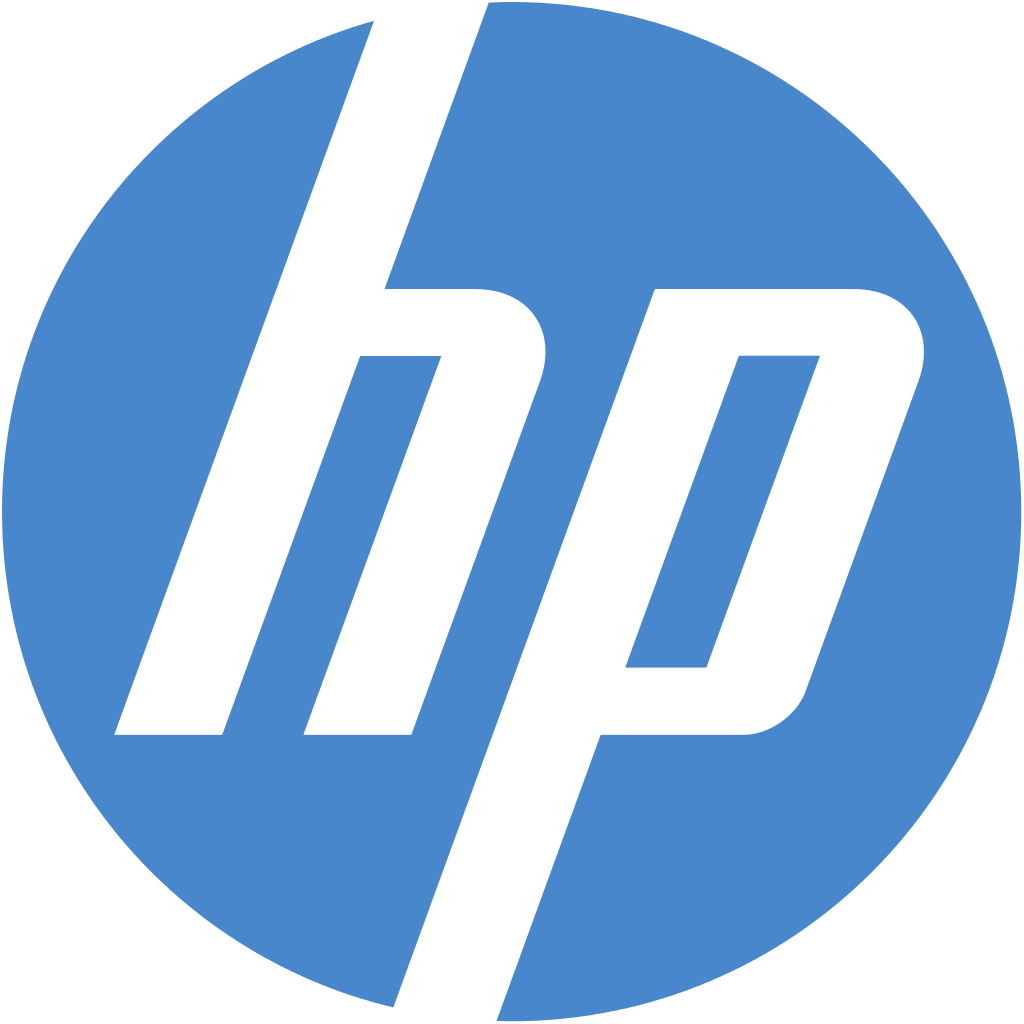 HP Logo - Top Laptop Brands