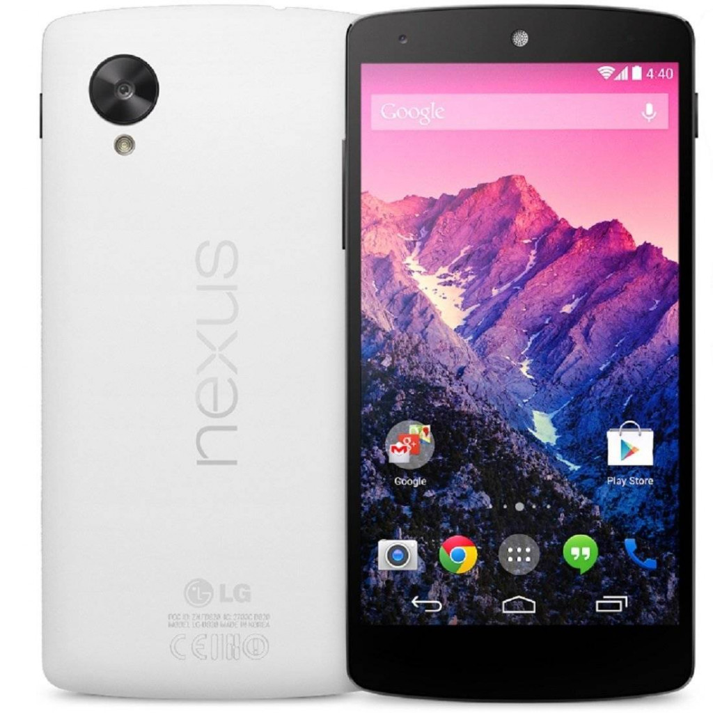 LG Google Nexus 5 D821 -  Best Smartphones Under 25000