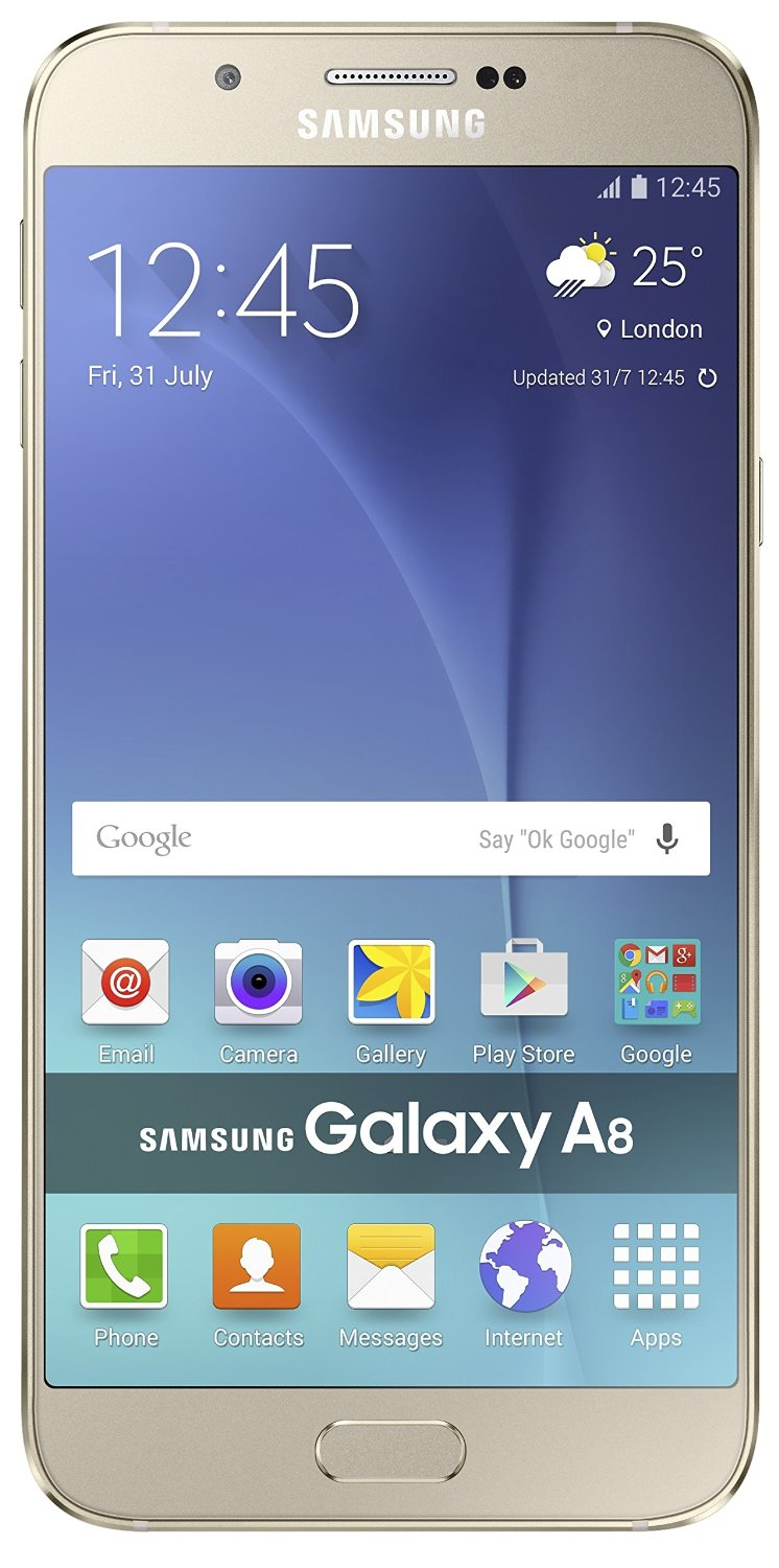 Samsung Galaxy A8 - best smartphones under 30000