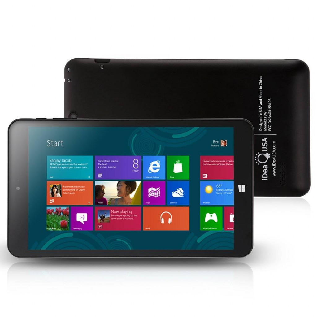 iDeaUSA® CT8 Windows Tablet-Best Tablets Under 100
