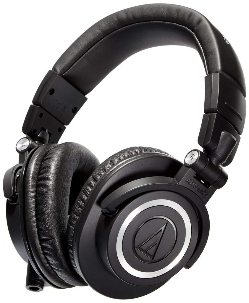 Audio Technica ATH-M50x Professional Monitor Headphone - Best Headphones under 200 dollars