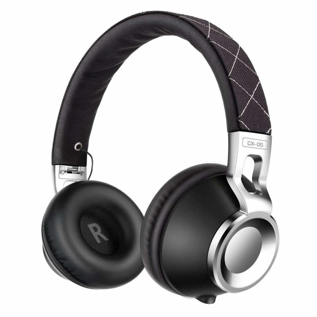 Sound Intone CX-05 Headphones with Microphone,Noise Isolating On Ear Headsets for Iphone,Android Device,Mp3/4,Laptop,Tablet(Black)