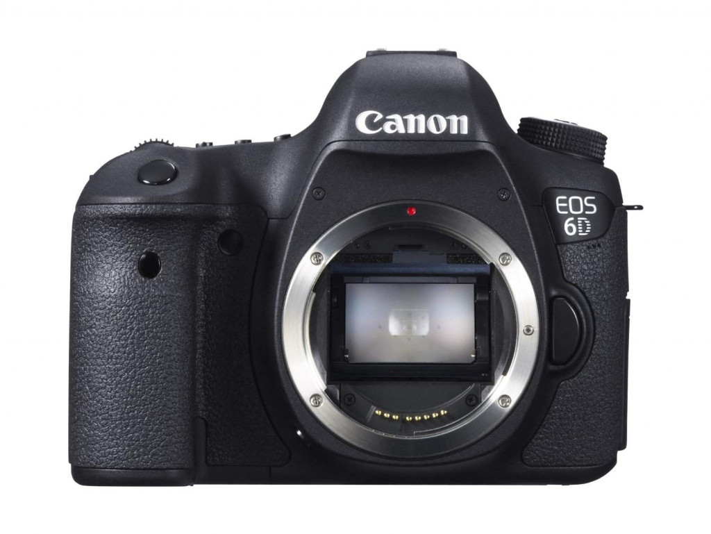 Canon EOS 6D 20.2 MP Digital CMOS