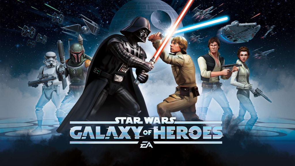 Star Wars Galaxy of Heroes kids games