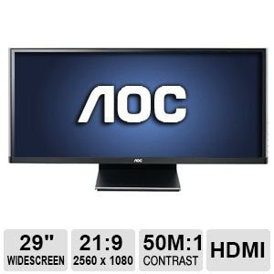 AOC WFHD Q2963PM Gaming Monitor