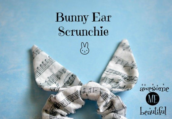 Bunny Ear Scrunchie