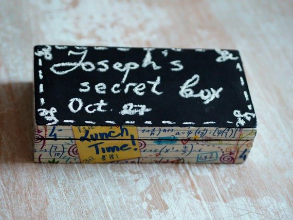 Chalkboard Gift Box