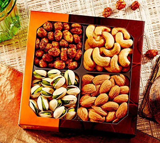 Gourmet Food Nuts Gift Basket