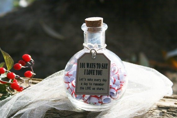 Love Messages in a Bottle