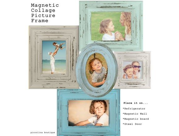 Magnetic Collage Picture Frame