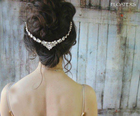 Pearl Bridal Headpiece