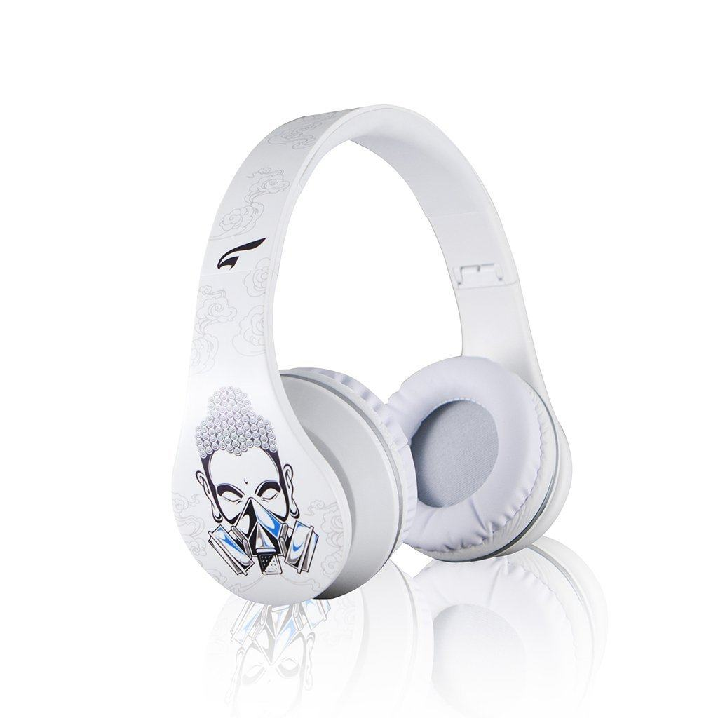 URBAN ZEN Fashion Headphones with Full Size Hard Carrying Case