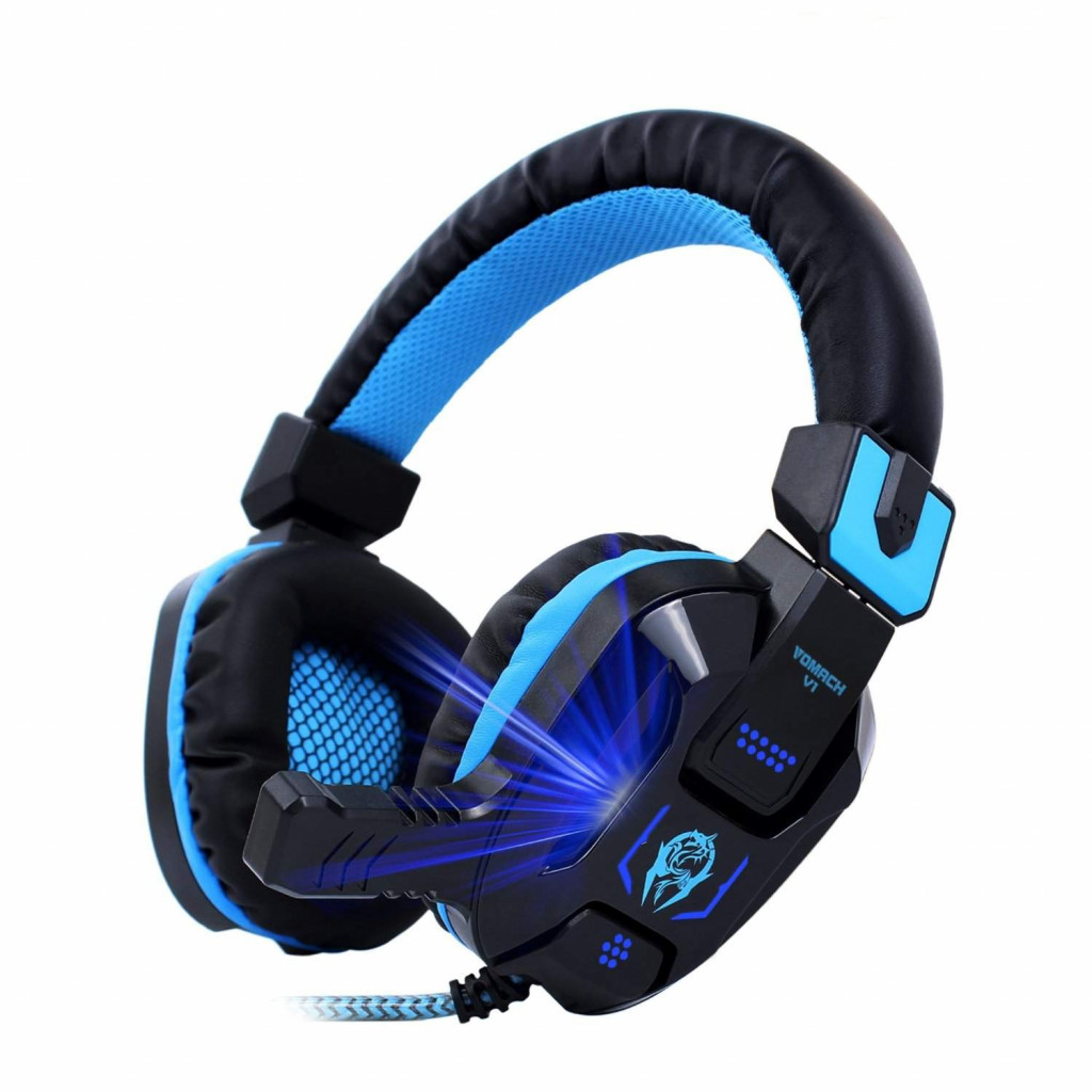 Vomach Headphones with Stereo Gaming Headset