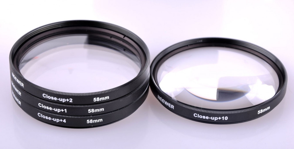 58 mm close-up macro lens